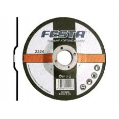 Disc abraziv pentru polizarea metalului Festa 150X6.4x22.2 mm :: Festa