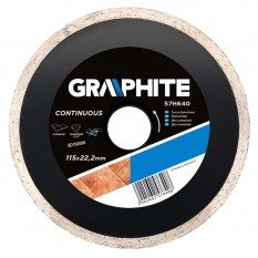 Disc diamantat continuu 115 mm 57H640TOP :: Graphite
