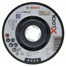 Disc abraziv pentru polizarea metalului 2608619258 :: Bosch