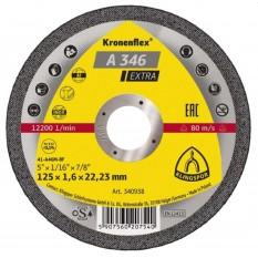 Disc abraziv pentru taierea inoxului si aluminiului A346EX :: Klingspor